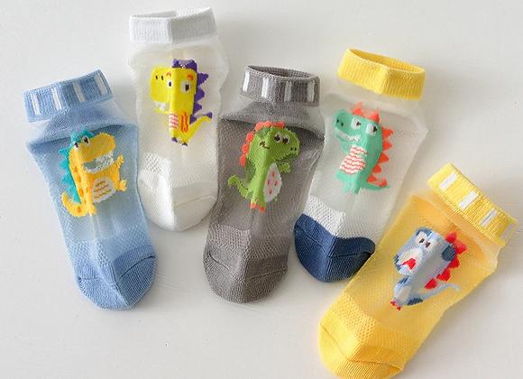 Boys Mesh Ankle Socks