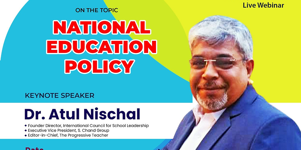 Live Webinar on National Education Policy