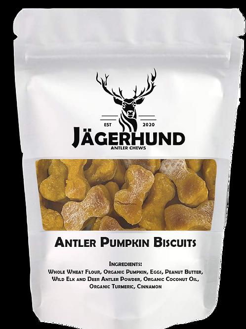 Antler Pumpkin Biscuits
