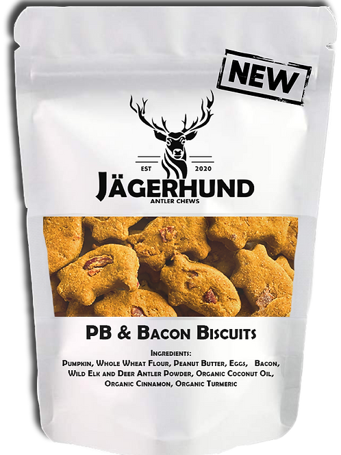 PB & Bacon Biscuits