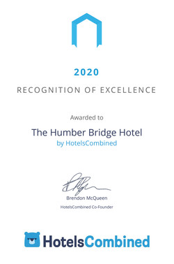 Certificate The Humber Bridge Hotel