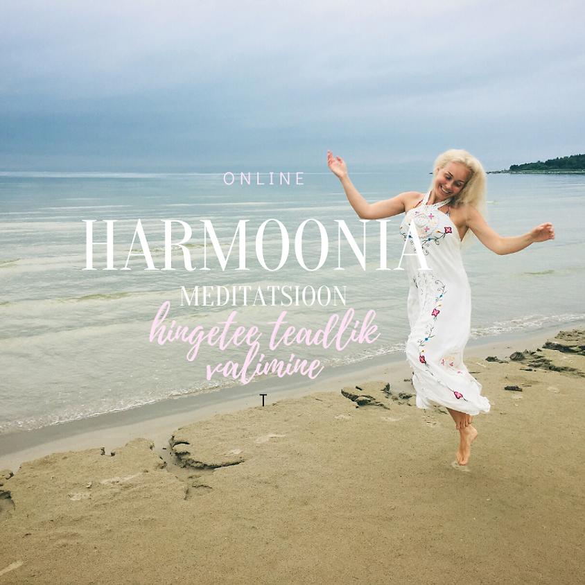 Harmoonia meditatsioon (teadlik hingetee valimine) ONLINE