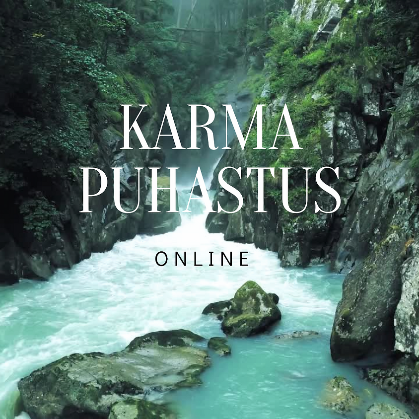 Karma puhastus ONLINE 06.04-13.04