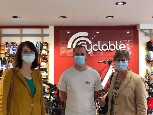 """Journée mondiale du vélo : rencontre avec le magasin """"Cyclable"""""""