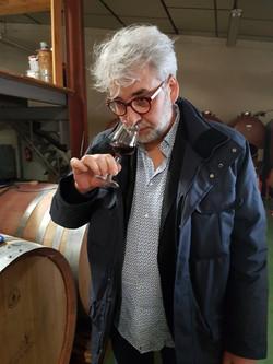 Cuvée N°12 de Pierre Négrevergne - Vins sur Mesures au Château Sainte Croix à Carcès chez Stéphane P