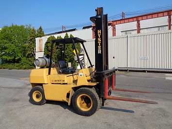 Used Pneumatic forklift Auction