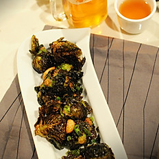 13. Fried Brussels Sprouts