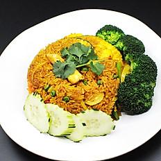 49. Pineapple Fried Rice