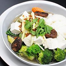 20. Tofu Rice Soup