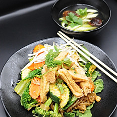 46. Rice Noodle with Tofu