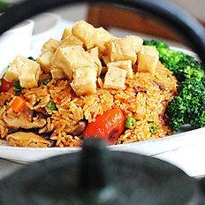 58. Tom Yum Fried Rice