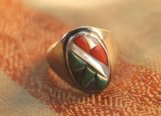 80s Zuni Native American Ring
