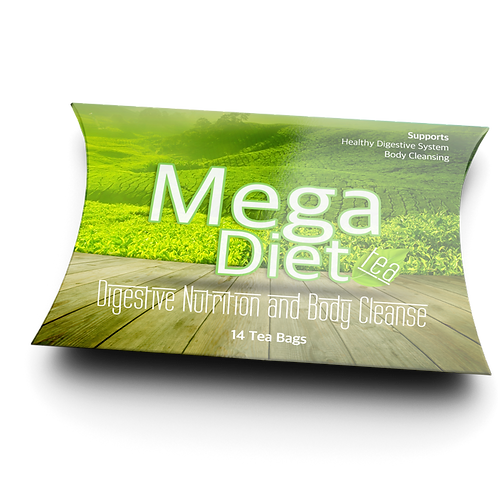 MegaDiet Tea, 30 tea bags/box