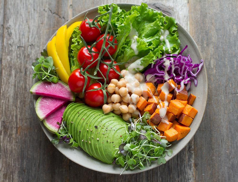 Színes tányér - étkezz színesen, egészségesen