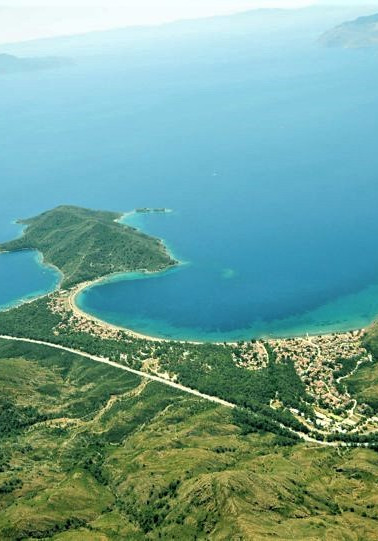 Datca Aktur Bird's-eye view