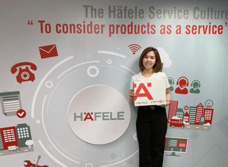 Fantom Hardware Announces Hafele Thailand As Exclusive Distributors:
