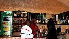 Makuzi Beach Lodge - Enjoying the bar.JP