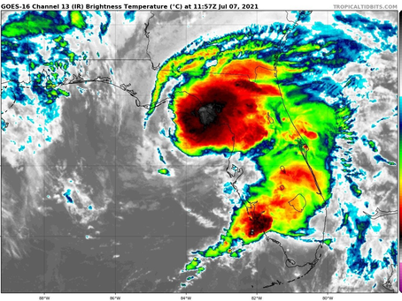Tropical Storm Elsa Briefing #8 July 7, 2021 Wednesday