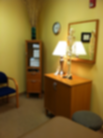 Private Office for Physical Therapy, private treatment room