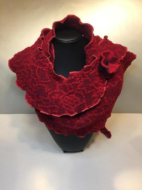 Wunderschöner Schal aus 100% Wolle