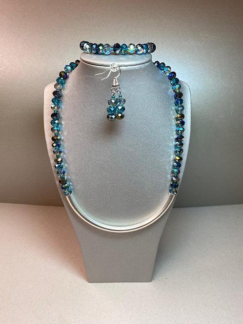 Halskette mit passendem Armband / Ohrschmuck / auch einzeln erhältlich