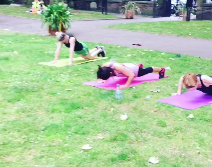Mum & Baby Ladies Group Functional Fitness Training in London