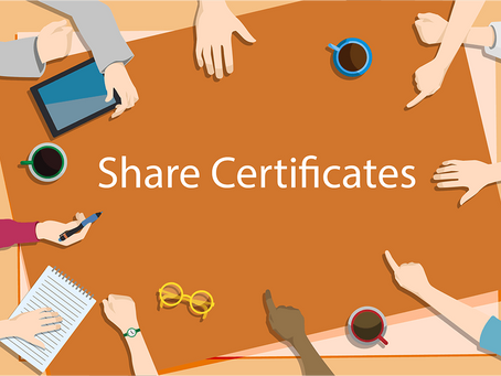What you need to know about share certificates