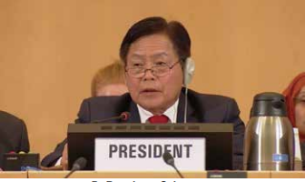 Laos takes leading role at World Health Assembly on primary healthcare