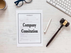 How to Draft a Company Constitution