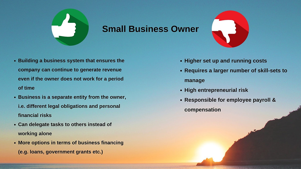 Small Business Owner Pros & Cons