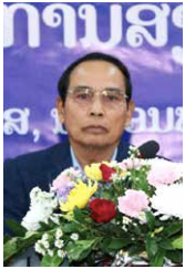 Dr Bounthong Chitmany.