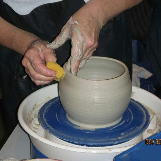 Pottery classes... lead to connections and lifelong learning!