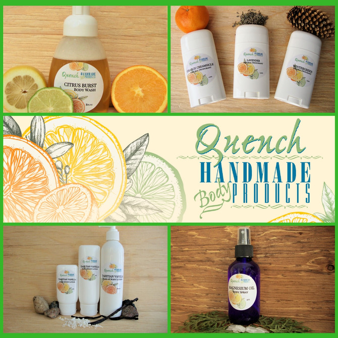 A Natural, Handmade & Local Solution to your skincare needs