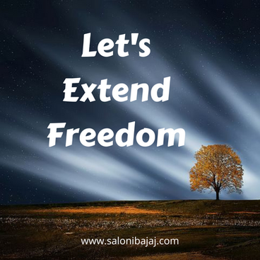 Let's Extend Freedom
