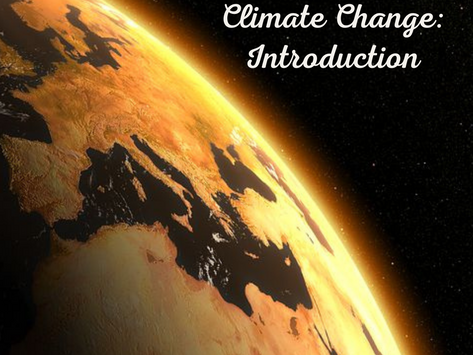 Climate Change: Introduction