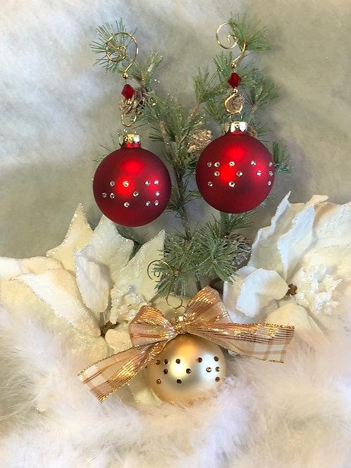 Braille Christmas Ornament:  Joy, Noel, Love