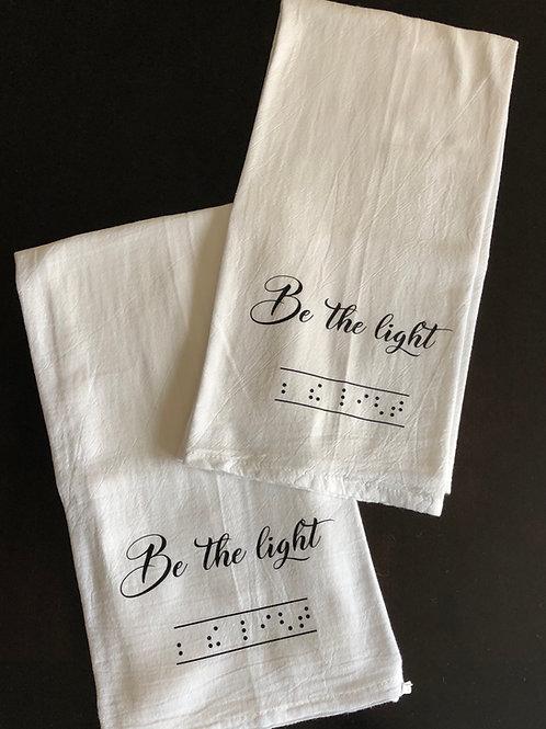 Dish Towel - Be The Light