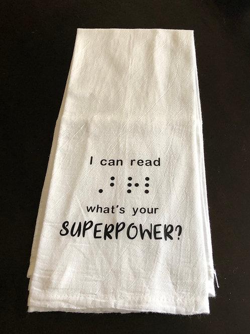 Dish Towel - Superpower