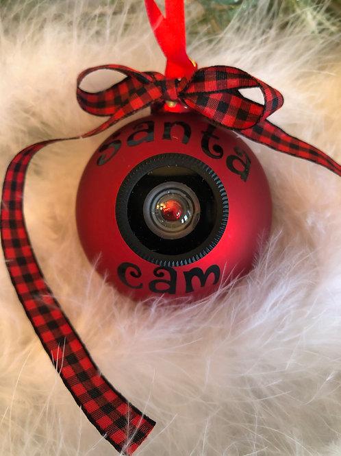 'Santa Cam Ornament'  personalized