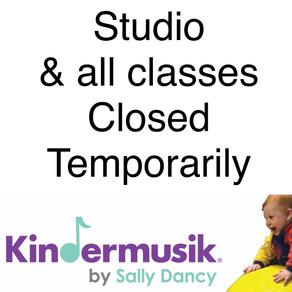 Studio, classes Closed