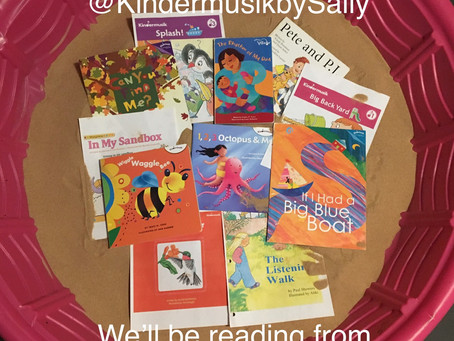 Books for Fall in KindermusikbySally