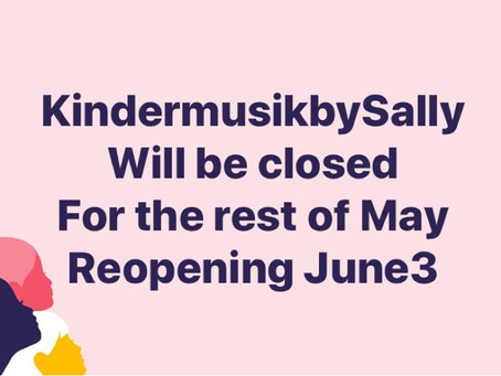No Classes for the rest of May