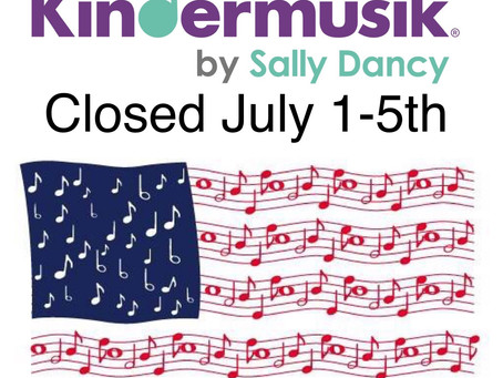 Closed July 1-5th
