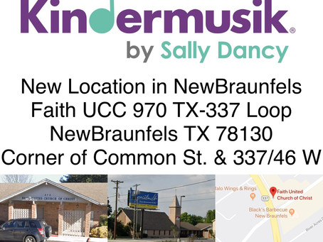 Announcing New Location in NB