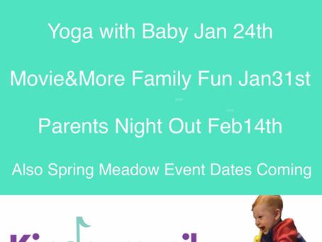 Winter Events & 2020Schedule