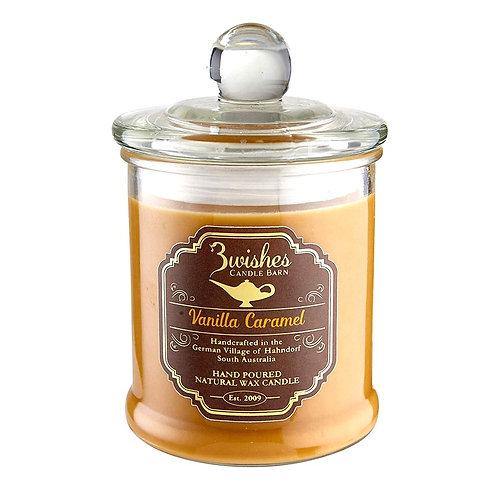 Vanilla Caramel - Large 80 hour Soy wax candle