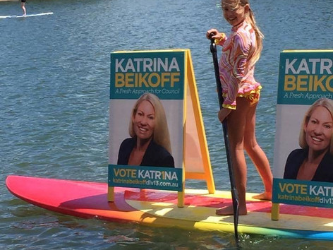 2016 campaigning the Gold Coast way