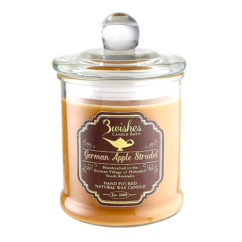 German Apple Strudel - Large 80 hour soy wax candle