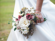 Dusky pink and ivory wedding bouquet.JPG