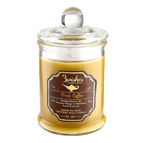 Fresh Coffee - Small 20 hour Soy wax candle